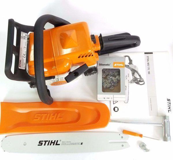 Stihl MS 170 Benzine Kettingzaag 5