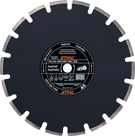 Stihl D-A80 Diamant Doorslijpschijf - Ø 350 mm