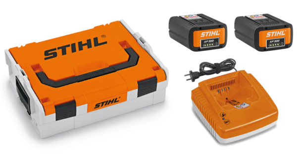 Stihl Power Box Advance Incl. 2 x AP 300 Accu & AL 500 Snellader 1