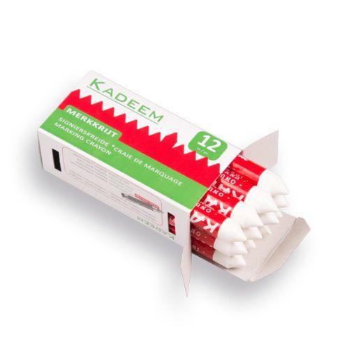 Markeerkrijt Kadeem kleur wit