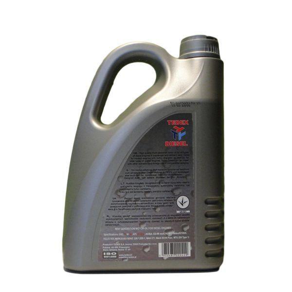 Tedex CF 15w40 Motorolie Diesel - 4 liter 1
