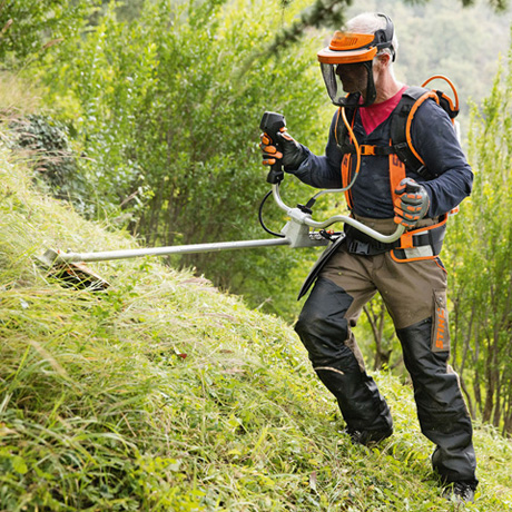 Stihl FSA 130 Accu Bosmaaier Body met Grassnijblad 2