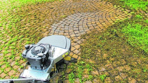 Kwern Greenbuster Home 550 Onkruidborstelmachine 2
