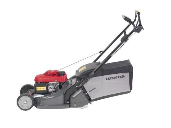 Honda HRX 476 QX Benzine Grasmaaier met Wals 1