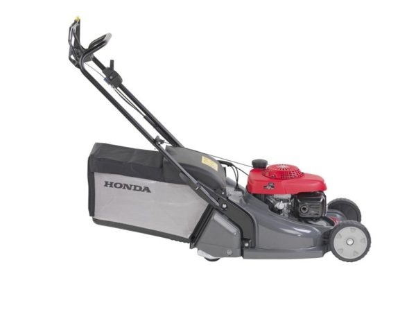 Honda HRX 476 QX Benzine Grasmaaier met Wals 2
