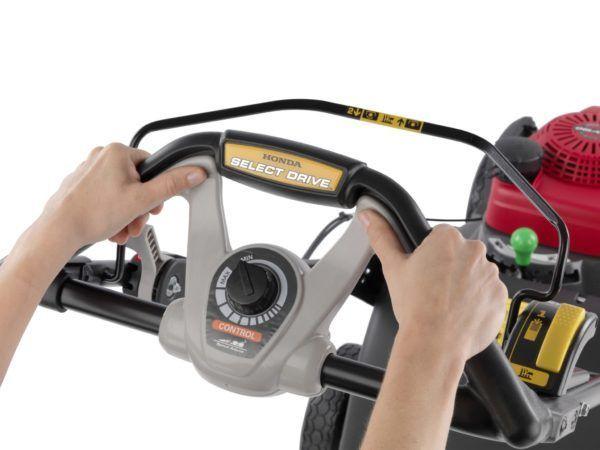 Honda HRX 537 VY Benzine Grasmaaier 1