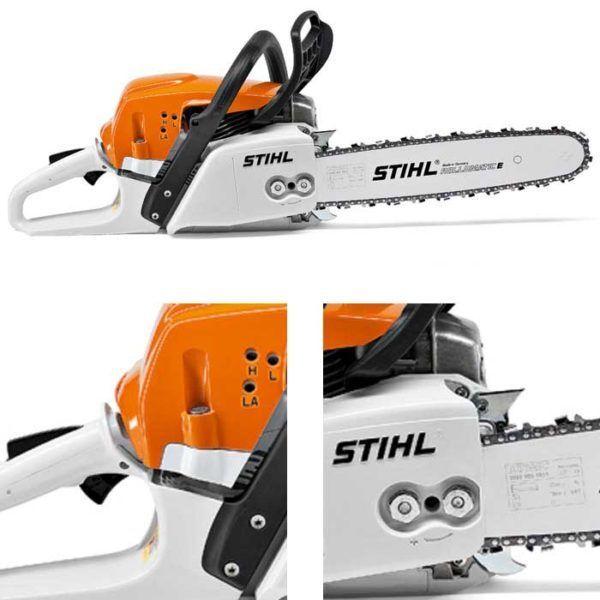 Stihl MS 271 Benzine Kettingzaag met 35/40 cm RM3 Pro Zaagblad 3
