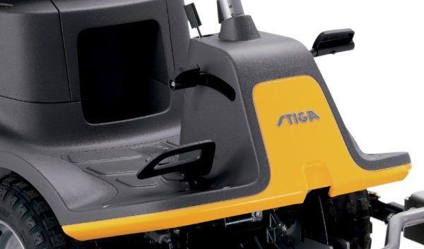 Stiga Park 120 HST Benzine Zitmaaier Inclusief 85 cm quick flip maaidek 3