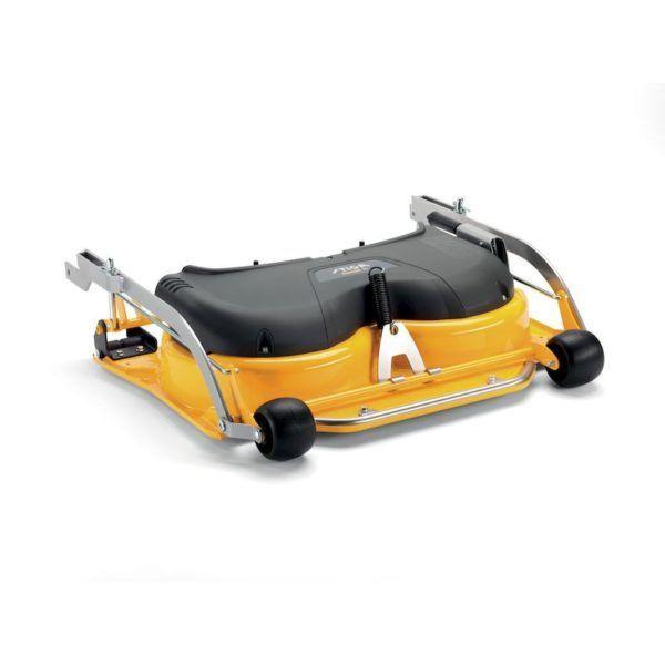 Stiga Park 340 PWX Benzine Zitmaaier met 105 cm Combi-maaidek 3