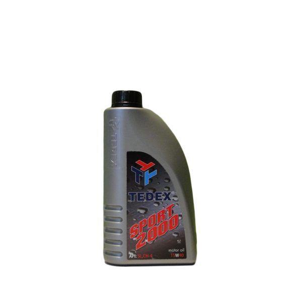 Tedex Sport 2000 15W40 Motorolie - 1 liter