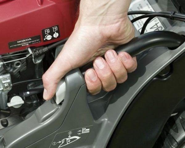 Honda HRX 476 HY Benzine Grasmaaier 3