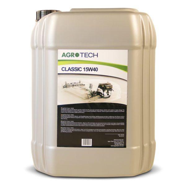 AgroTech Classic 15W40 Motorolie