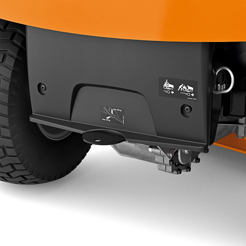Stihl RT 4097 SX Benzine Zitmaaier met zijuitworp 2