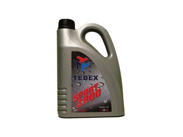 Tedex Sport 2000 15W40 Motorolie - 4 liter