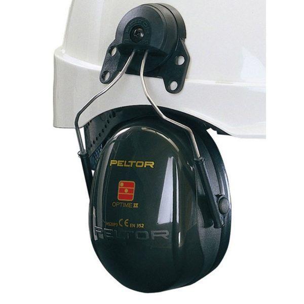 Peltor Optime II Oordoppen met Helmbevestiging 1