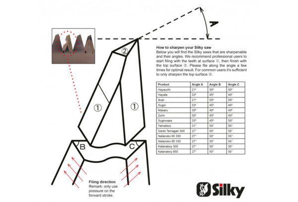 Silky Vijl voor Silky Zaagbladen 3
