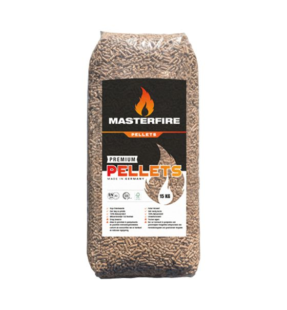 Houtpellets Masterfire Premium Pellets losse zak 15 kg 2