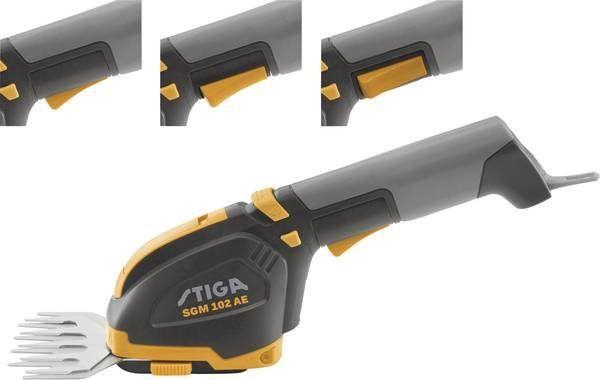 Stiga SGM 104 AE Accu Grasschaar - Struiksnoeischaar Incl. accu 5