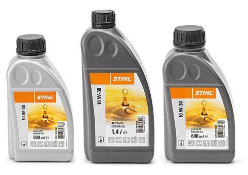 Stihl 10 W-30 motorolie - 1,4 liter