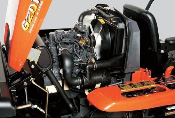 Kubota GZD21 Diesel Zitmaaier 2