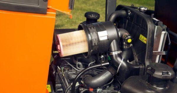 Kubota ZD1211 Diesel Zitmaaier 2