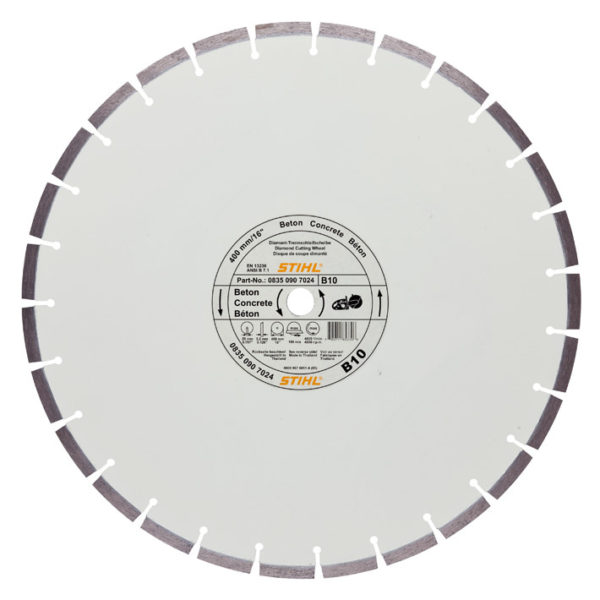 Stihl D-B10 Diamant Doorslijpschijf - Ø 300mm/12""