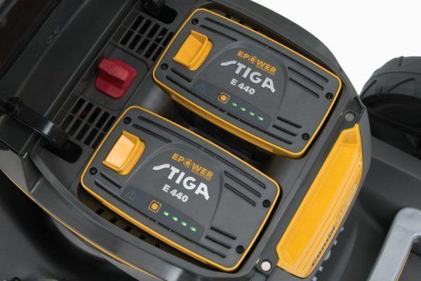 Stiga Combi 743 Q AE Accu Grasmaaier Kit 7
