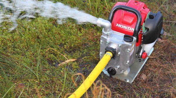 Honda WX 10 Benzine Waterpomp - 140 Liter 3
