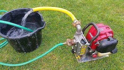 Honda WX 10 Benzine Waterpomp - 140 Liter 2