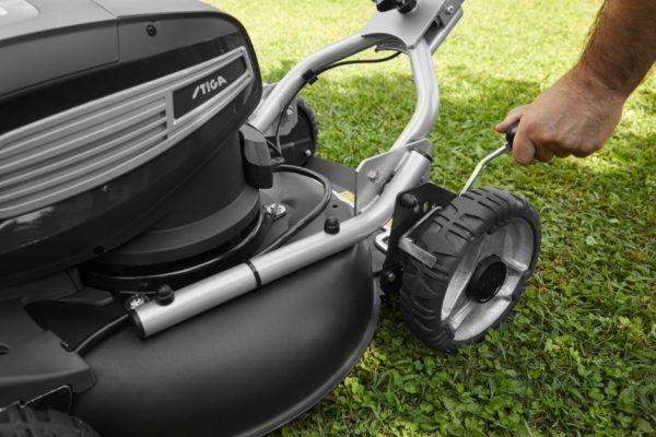 Stiga Multiclip Pro 950 SX AE Accu Grasmaaier 10