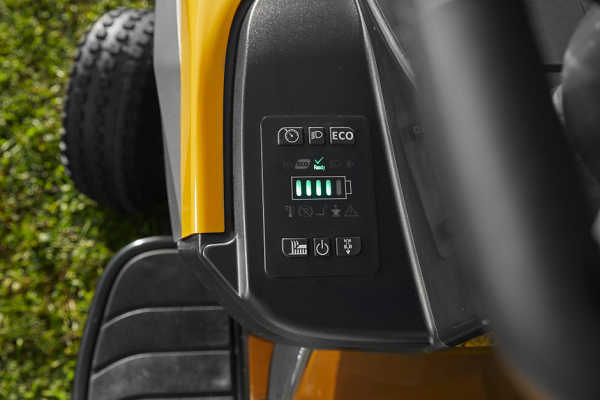 Stiga e-Ride S300 Accu Zitmaaier 2