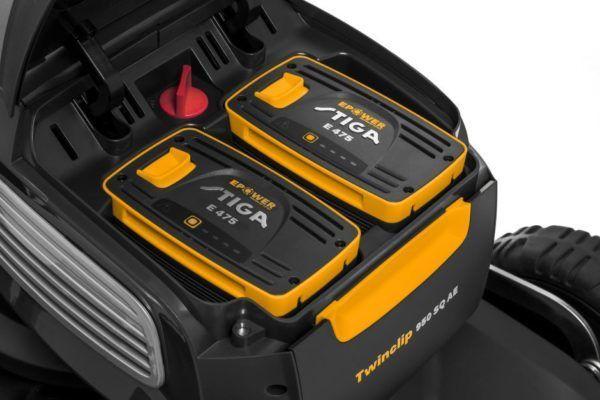 Stiga Twinclip 950 SQ AE Accu Grasmaaier 8