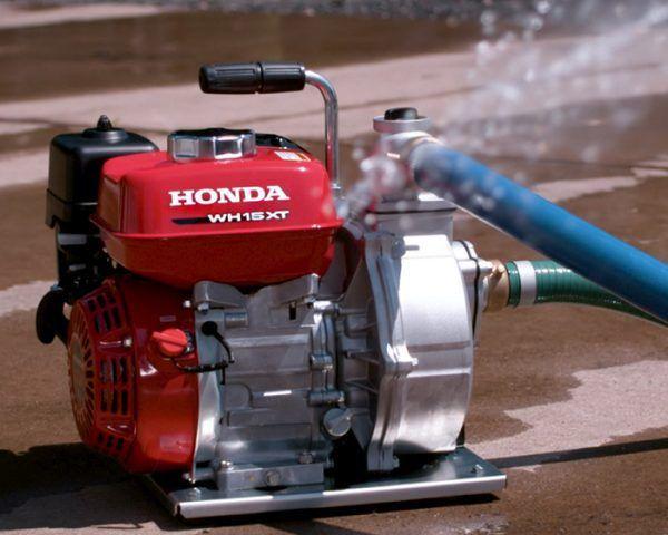 Honda WH 15 Waterpomp - 370 liter 1