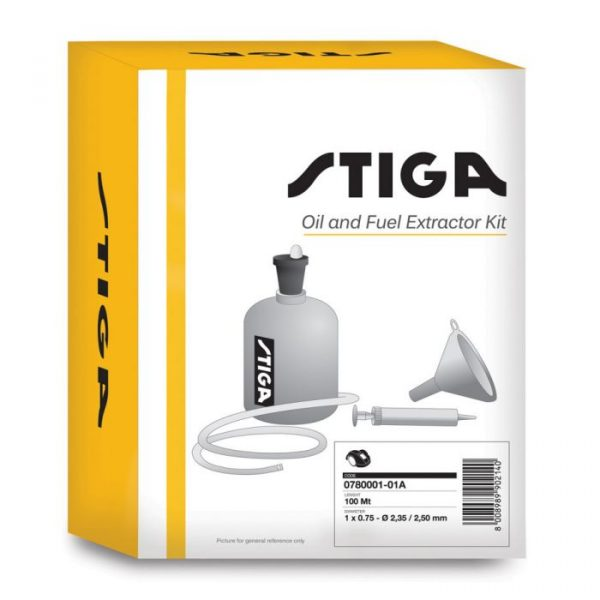 Stiga Brandstof & Olie Extractor Kit - 4-takt - 1134918801